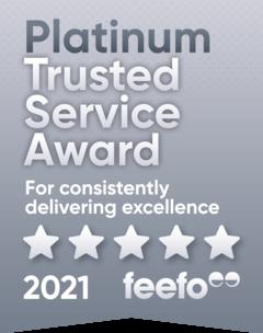feefo platinum service 2020