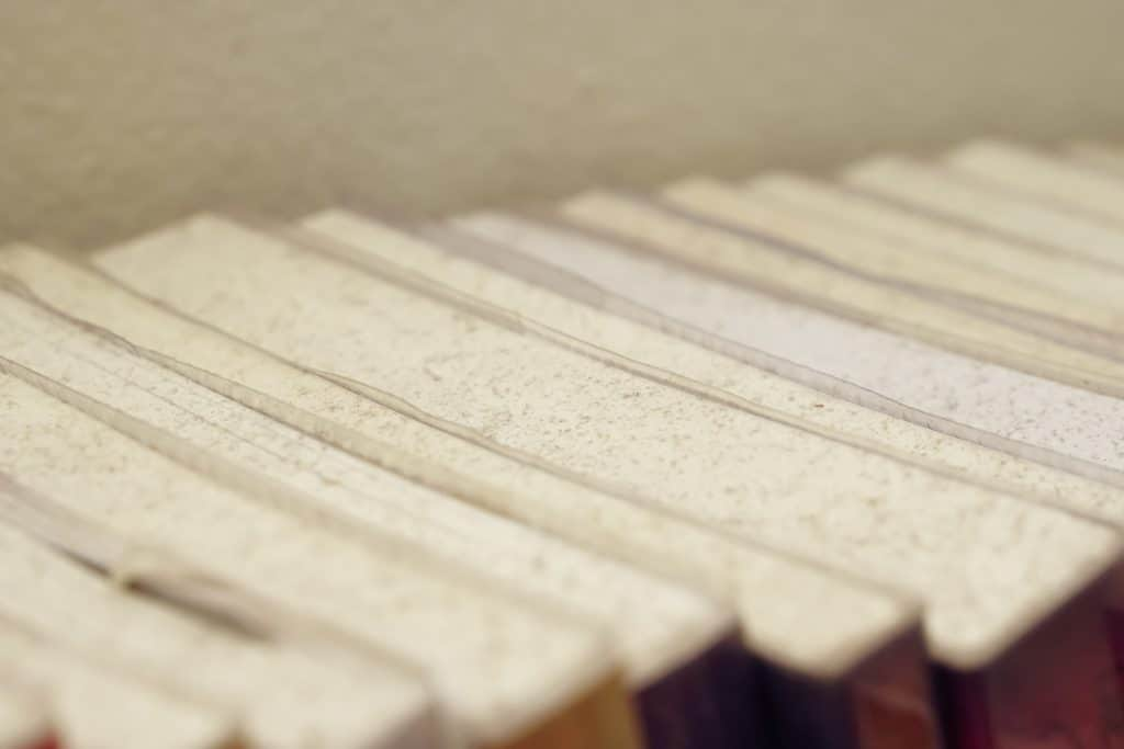 damaged books ready to be repaired
