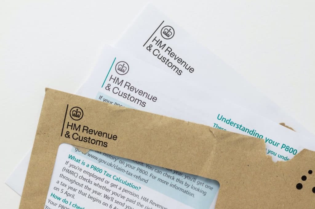 HM Revenue and customs letter change of address