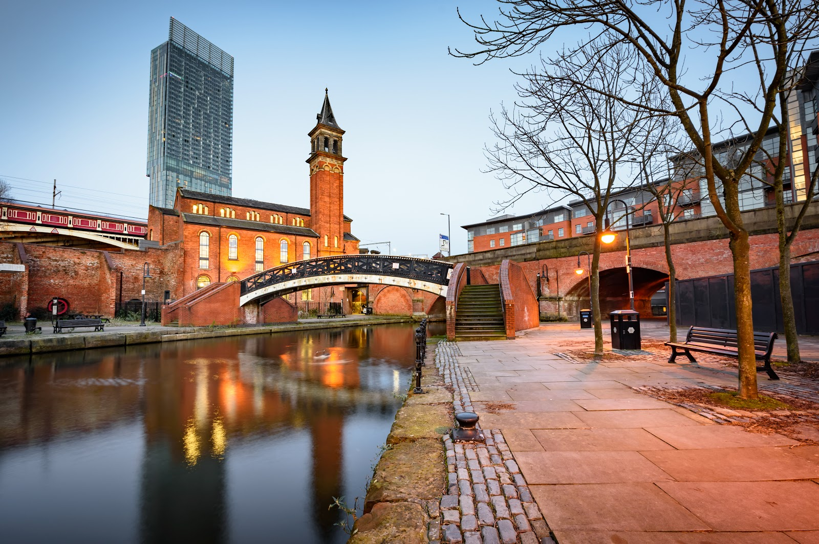 Moving to Manchester - the city centre