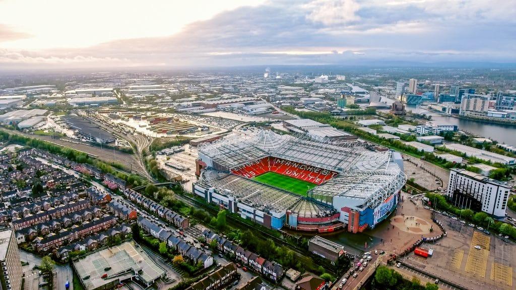 Old Trafford stadium Manchester
