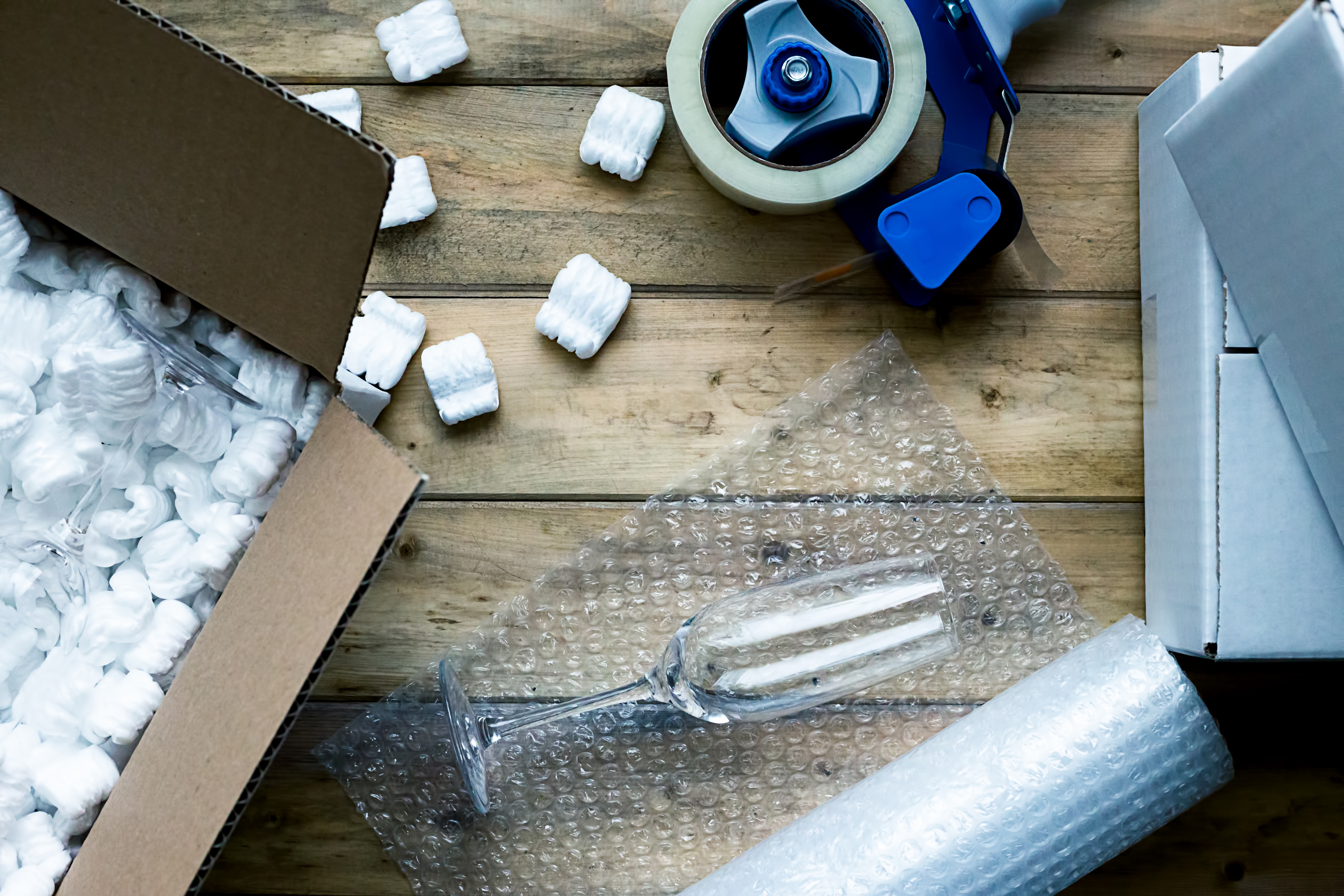 packing materials for self storage