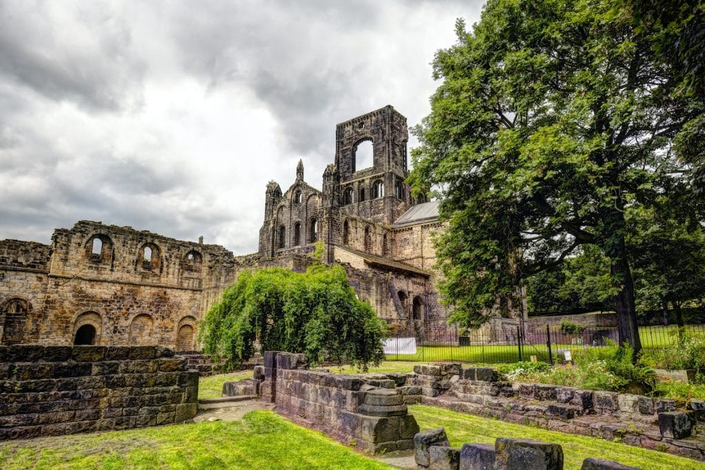 Kirkstall Abbey in Horsforth, Leeds