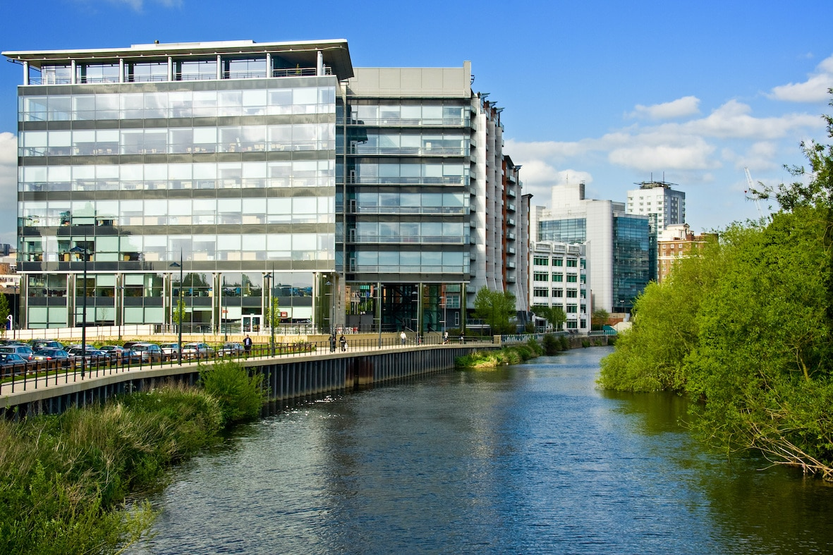 Offices on Leeds' Waterfront