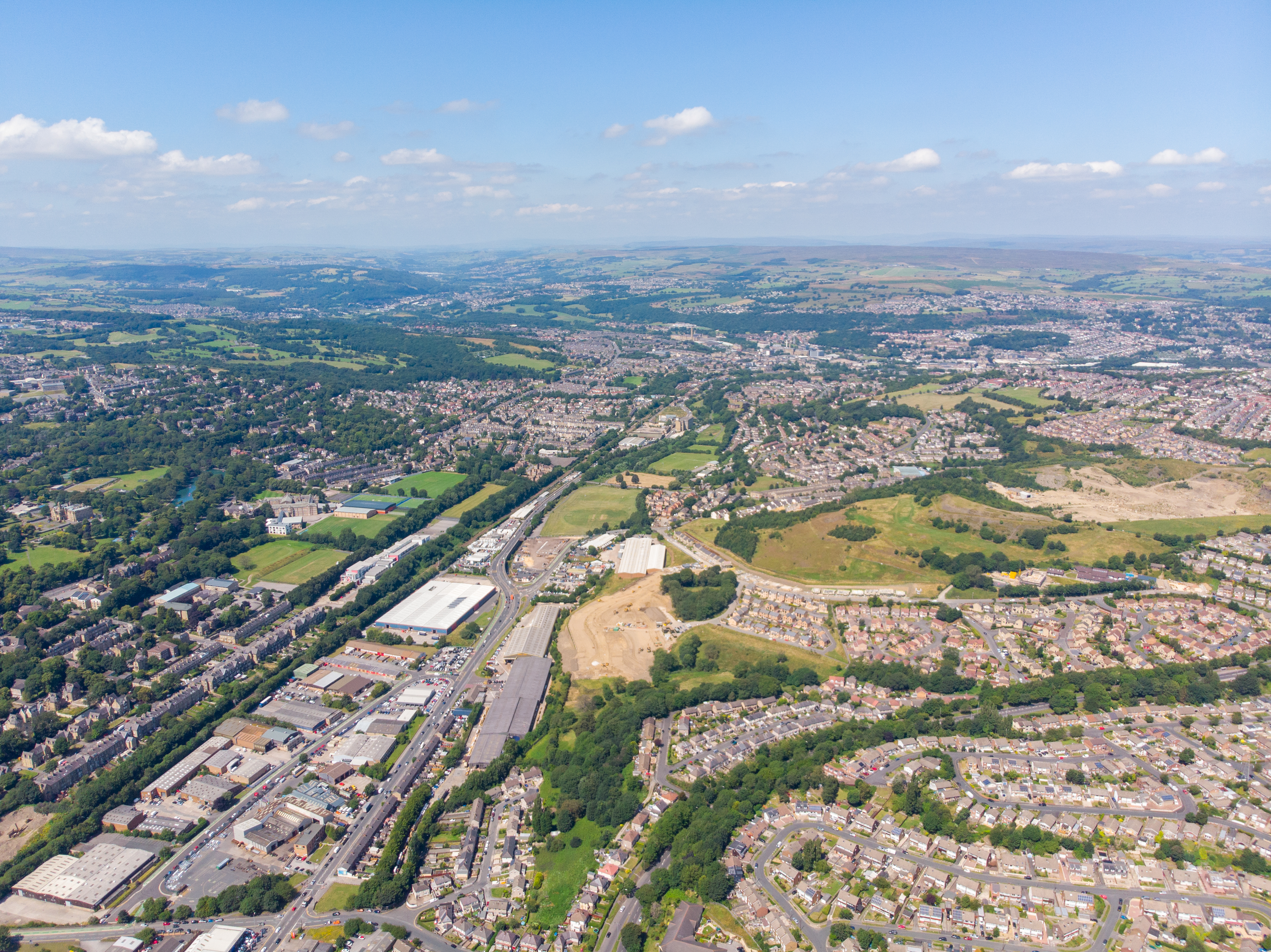 Ariel photo of Bradford, Yorkshire